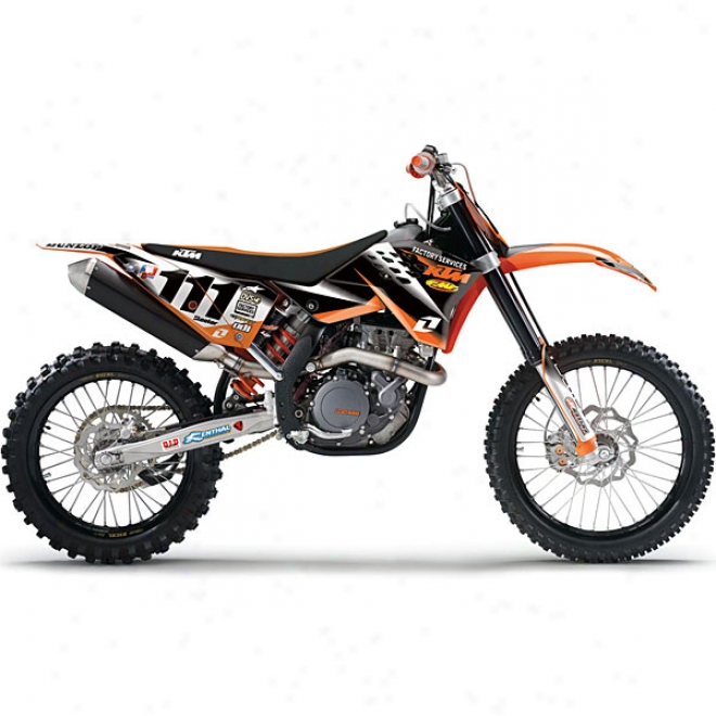 Ktm Factory Services Replica Graphic Kit