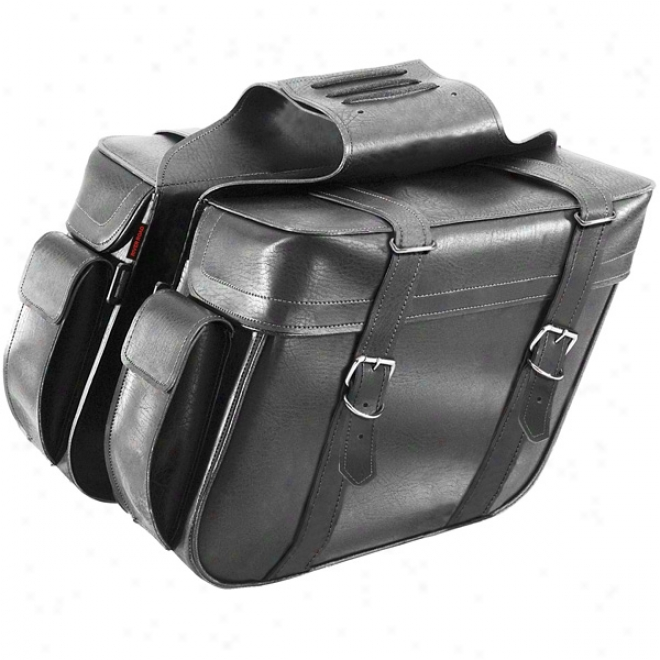 Lwrge Slant Saddlebags