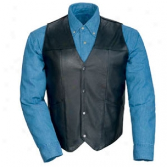 Leather Vest Without Laces