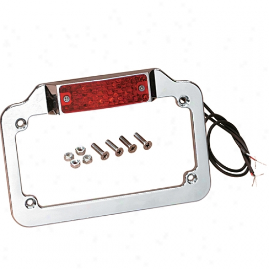 License Plate Frame With Leds