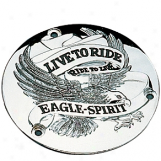 Live To Ride Eagle Spirit Derby Cover