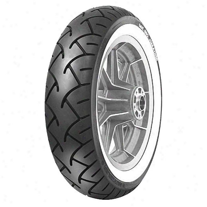 Me 880 Wide White Sidewall Rear Tire