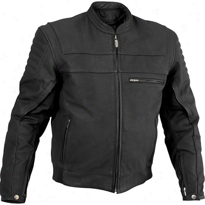Mens Vise Leather Jacket