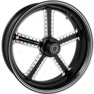 Mission One-piece Contrast-cut Aluminum Front Wheel