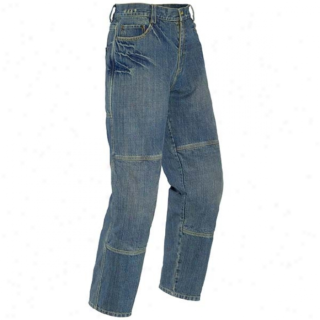 Mod Denim Pants