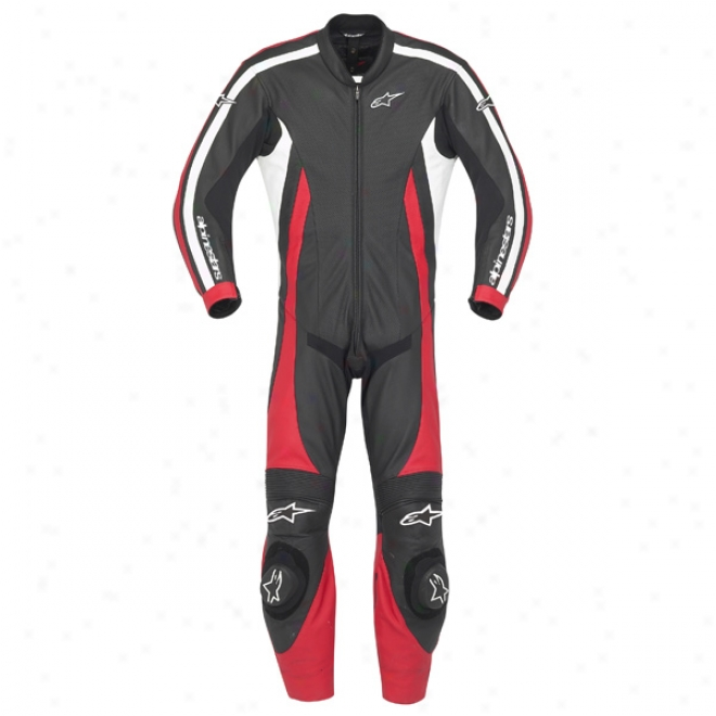 Monza One-piece Leather Suit