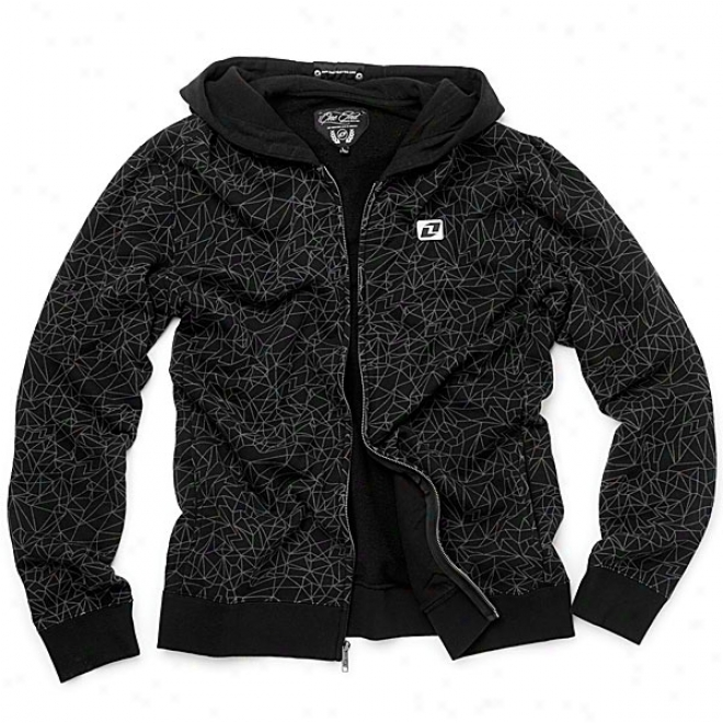 Mosaic Zip-up Hoody
