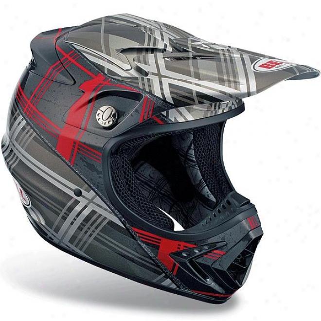 Moto-8 Plaid Helmet