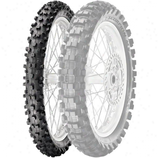 Mx Extra Medium-soft To Hard Front Tire