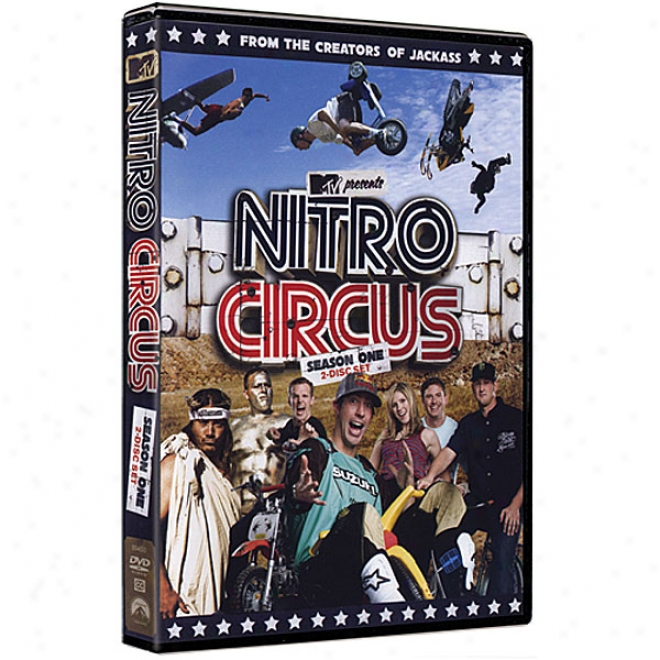 Nitro Circus Tv Season 1 Dvd