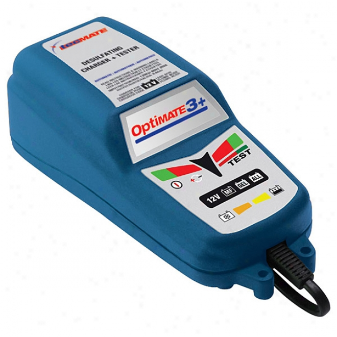 Optimate 3 Plus Battery Charger