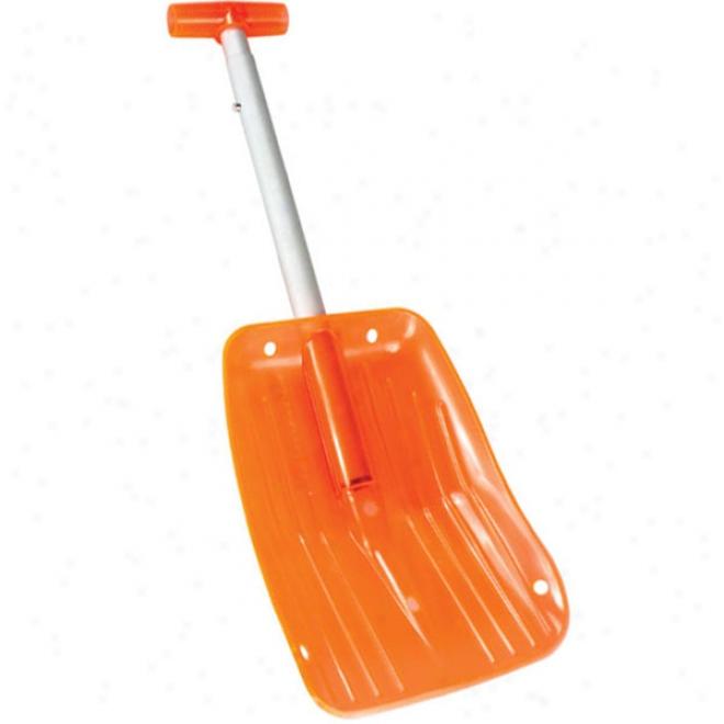 Orange Lexan Shovel