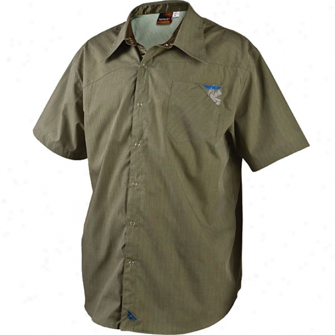 Pin Stripe Button-up Shirt