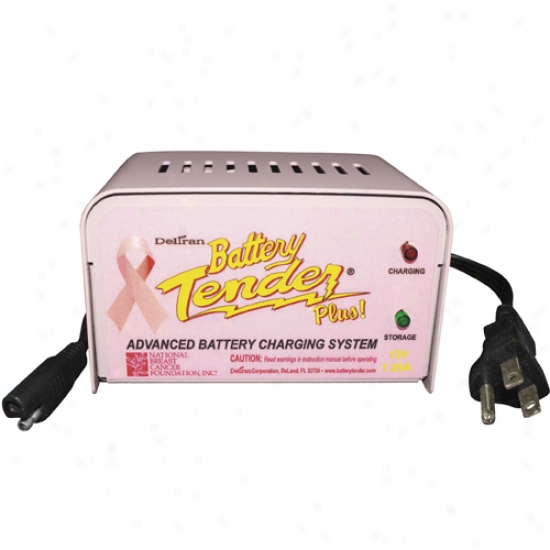 Pink Battery Tender Plus