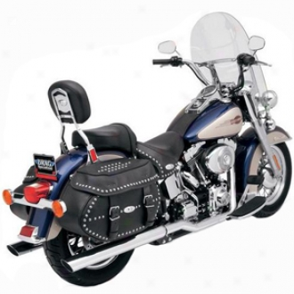 Power Curve True-dual Crossover Headers  For Softails