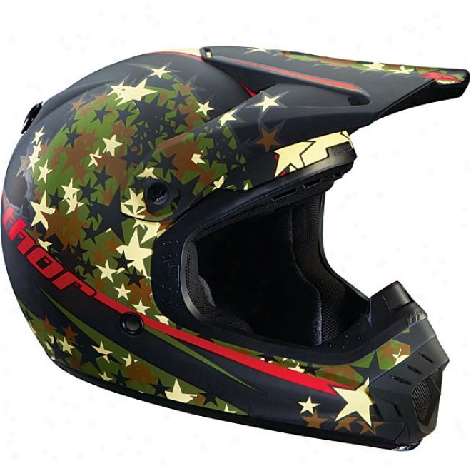 Quadrant Star Camo Helmet
