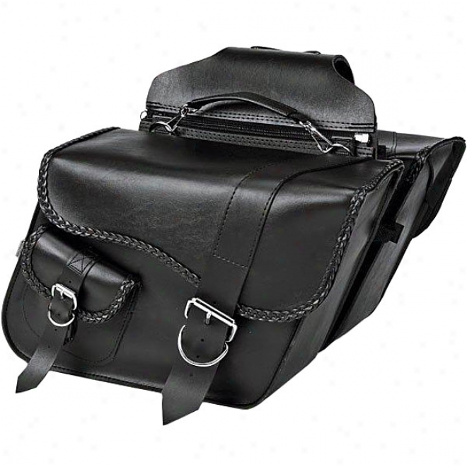 Ranger Braided Super Slant Saddlebags
