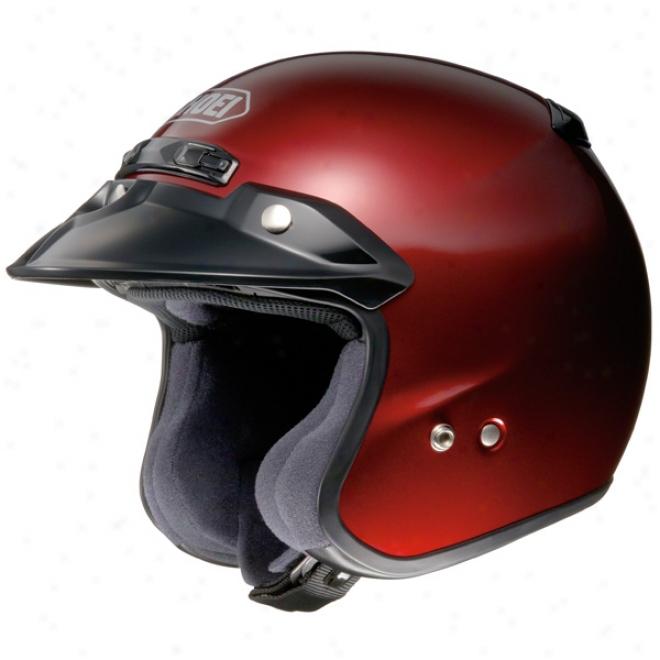 Rj Air Platinum R Open-face Helmet