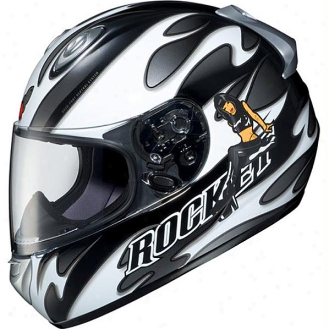 Rkt 101 Good And Evil Helmet