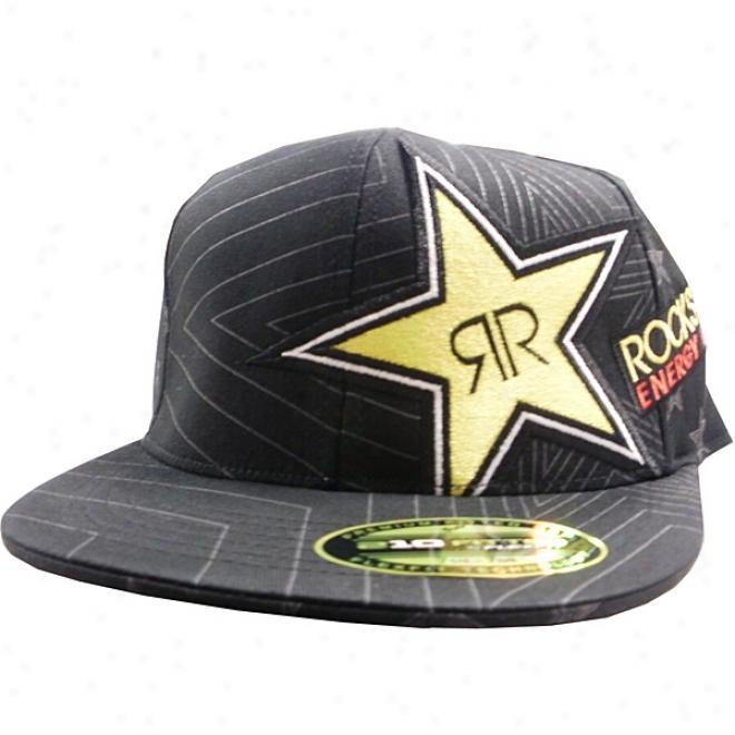 Rockstar Speed Burst 210 Fitted Flexfit Hat