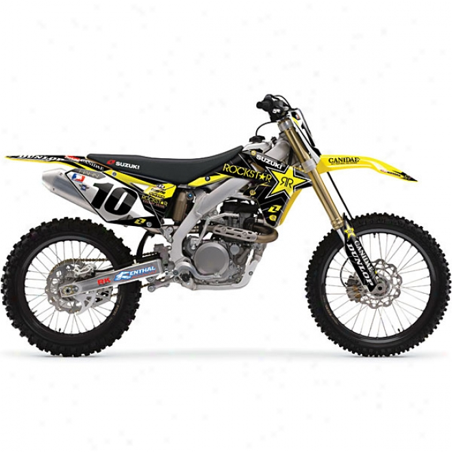 Rockstar Suzuki Autograph copy Graphic Kit