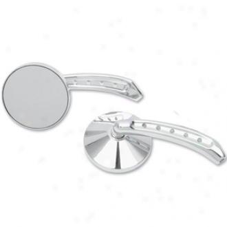 Round Mirror With 5-hole Stem