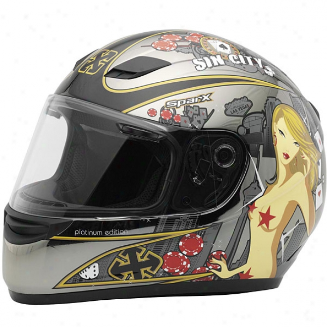 S-07 Platinum Helmet
