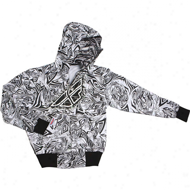 Shatter Zip-up Hoody