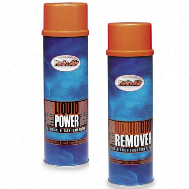 Spray Pak-dirt Remover And Oil Kit