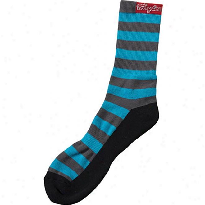 Stripe Crew Sockz
