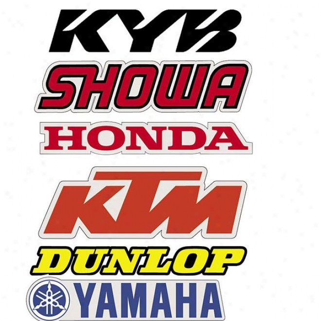 Swingarm Stickers