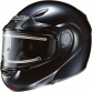 Cl-max Sn Solid Snow Helmet With Electric Shield
