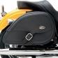 Drifter Teardrop Saddlebags With Shock Cutaway