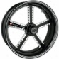Mission One-piece Contrast-cut Aluminum Front Wheel