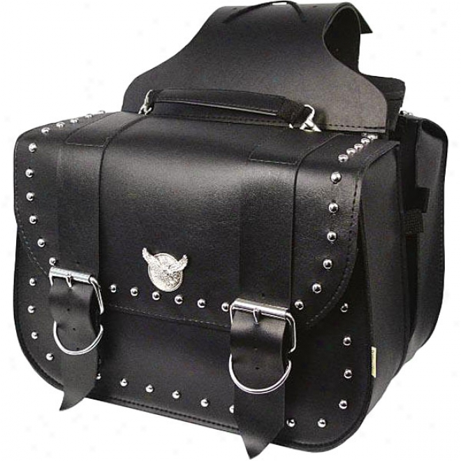 Touring Studded Saddlebags
