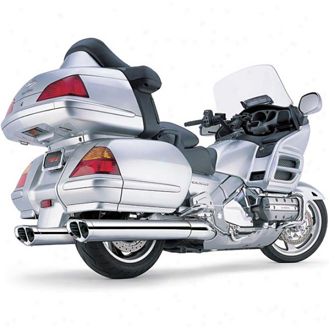 Tri-oval Slp-0n Exhaust
