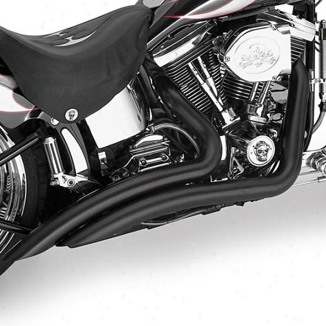 Troublemaker Darksides Slash-cut Exhaust