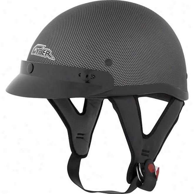 U-70 Carbon Fiber Look Helmet