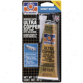 Ultra Copper Silicone Gasket Sealant