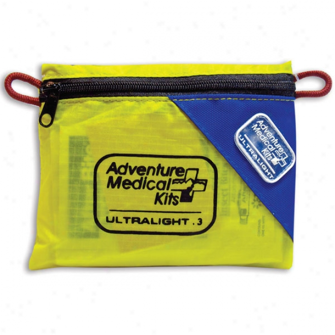 Uktralight And Watertight 3oz First-aid Kit