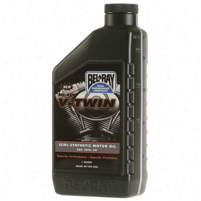 V-twin Semi-synthetic Motor Oil