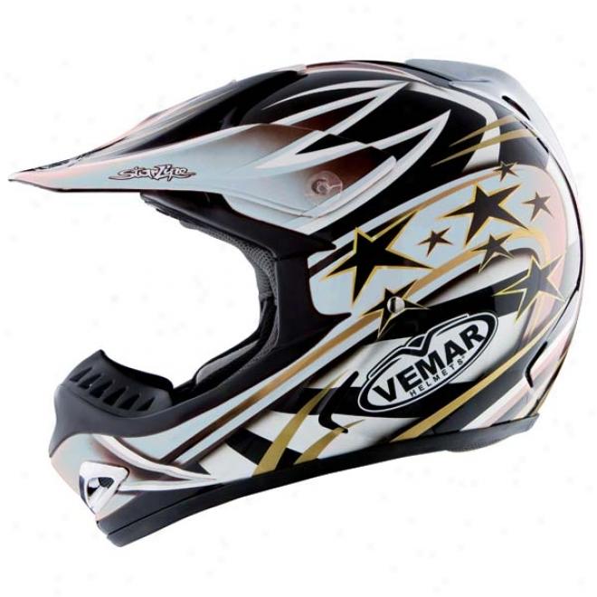 Vrx5 Predator Bluetooth Helmet
