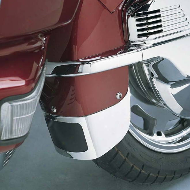 Wingleader Chrome Front Fender Extension