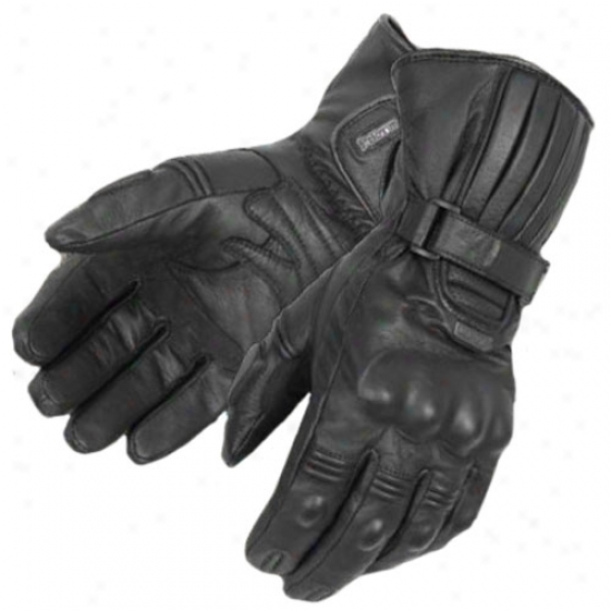 Winter Lengthy Leather Gloves
