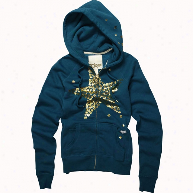 Womens Caviar Dreams Foxy Zip Hoody