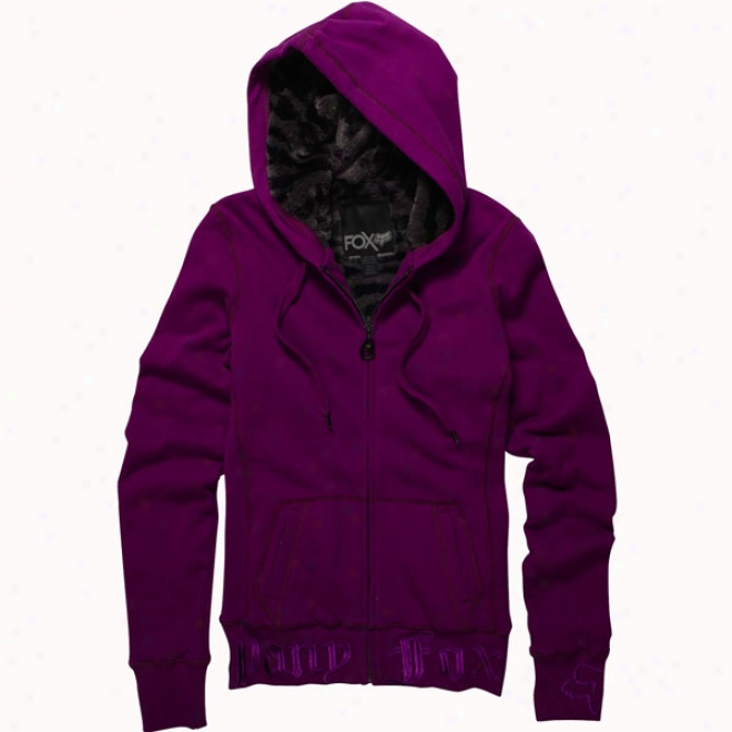 Womens Into The Wild Hoody