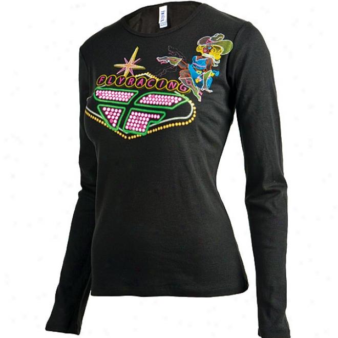 Womens Lady Luck Long Sleeve T-shirt
