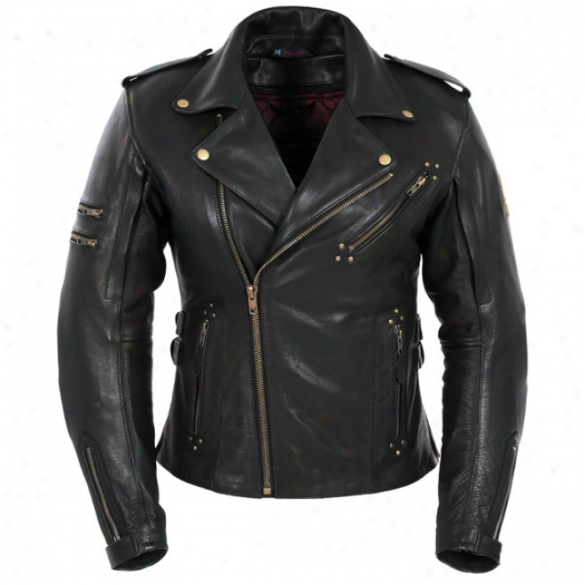 Womens Marylin Leather Jacket
