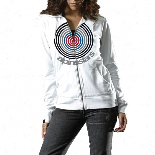Womens Mod Zip-up Hoody