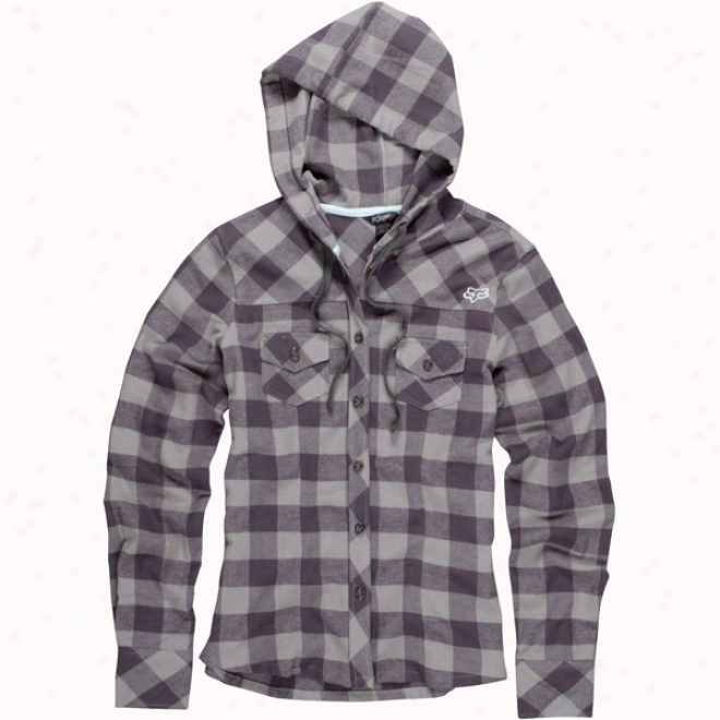 Womens Pike Hooded Flannel